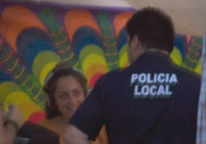 DJane und Policia Local